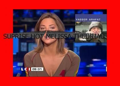 Yasser Arafat likes to rap