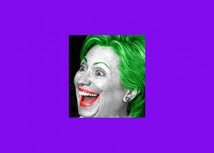 Hilary Clinton is the Joker!