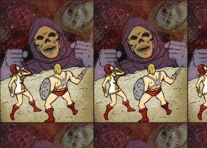 He-man and Teela trip balls