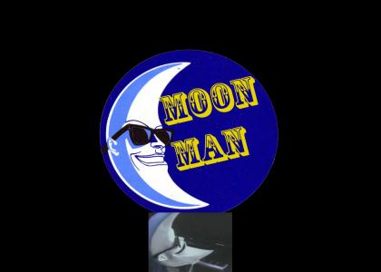 Moon Man plays Easter Bunny