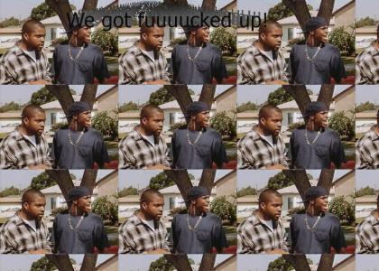 Chris Tucker Friday We got Effed Up