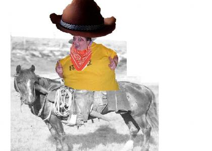 Fat Party Girl is a Cowboy