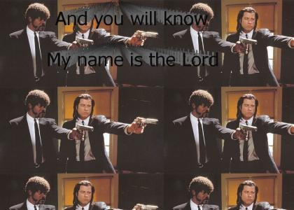 Pulp Fiction: Ezekiel 25:17