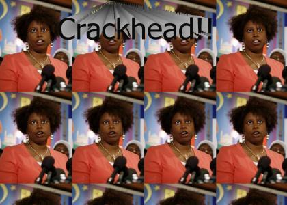 "Cynthia ""Crackhead"" McKinney"