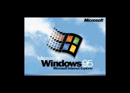 Windows 95 logo and jingle