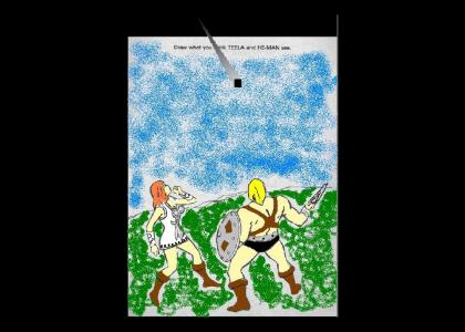 COLORED!!(extra credit) what he-man and teela really see