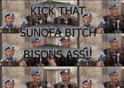 BISONS ASS!!