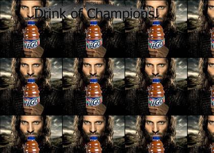 Viggo's Drink of Choice