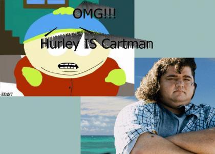 Hurley is Cartman!