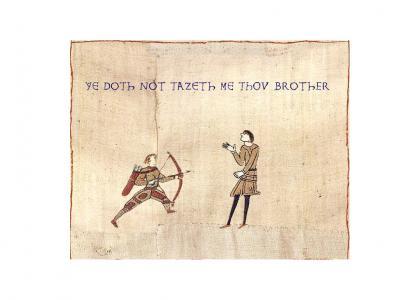 Medieval Dont Taze Me Bro