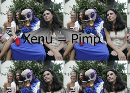 Xenu Is A Pimp