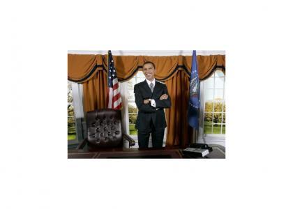 Obama feels good...
