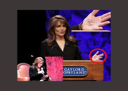 Palin Needs No Teleprompter