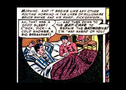 BATMAN DARK KNIGHT ENDING -- SPOILER!!!