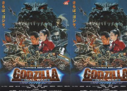 Behold Godzilla!