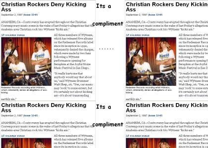 Christian Rock Sucks