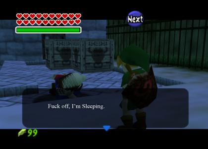 Sleeping Ocarina