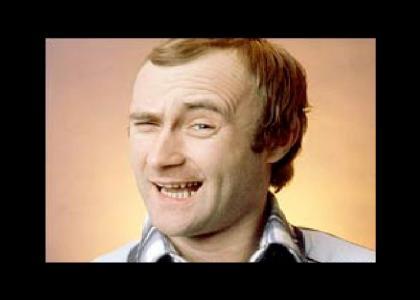 Phil Collins avoids a question