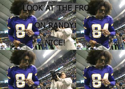 Randy Moss' Afro