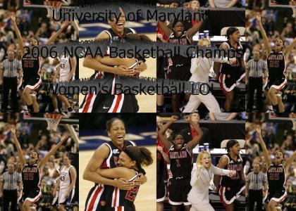 Maryland 2006 NCAA Basketball Champ