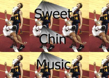 NBA sweet chin music
