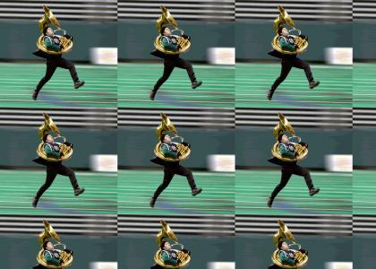Run, Tuba Mike! Run!