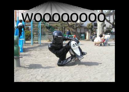 go panda bike go