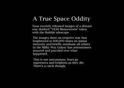 A True Space Oddity