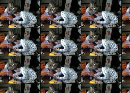 Nintendo 64 kids vs Hypnotic Man