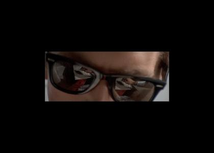 Patrick Bateman Chooses Not To Stare Into Your Soul