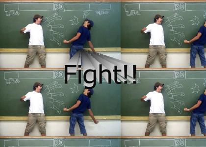 Street Fighter Classroom!