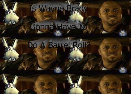 Is Wayne Brady Gonna Have To Do A Barrel Roll?