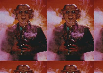 OMG!  Quark smokes the sticky icky icky