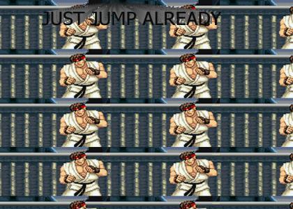 Ryu vs Ryu: Hadooooooken!