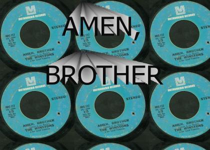 Amen, brother
