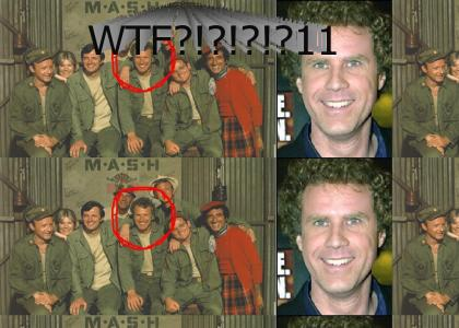 WTF! Will Ferrell in M*A*S*H?!?!?!?!