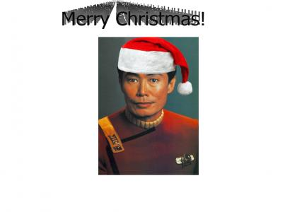 Sulu Sings the Christmas Song
