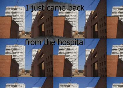 I just came back