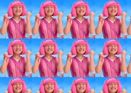 Lazytown: Can you feel the love tonight?