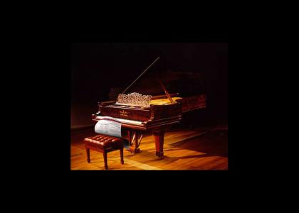 A YTMND Plays the Piano