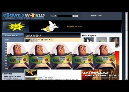 Buzz Lightyear's Report On Ebaumsworld