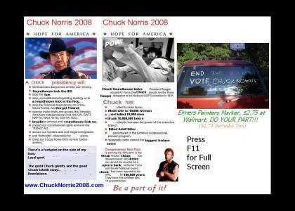 VOTE NORRIS 2008!!!!