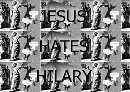 JesusHatesHilary