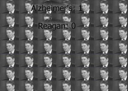 Ronald Reagan vs. Alzheimer's
