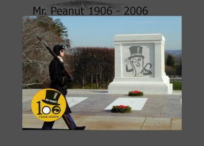 Goodbye Mr. Peanut!