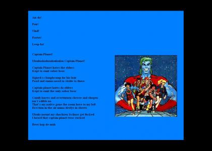 Interpretation Captain Planet German/Retard