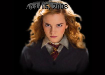 Hermione stares into your soul and knows what your thinking