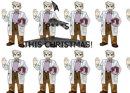 Professor Oak, the Secret Santa