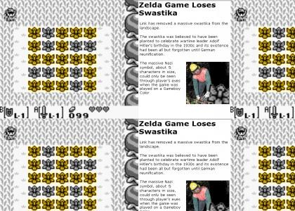 Zelda Game Loses Swastika (now cited)