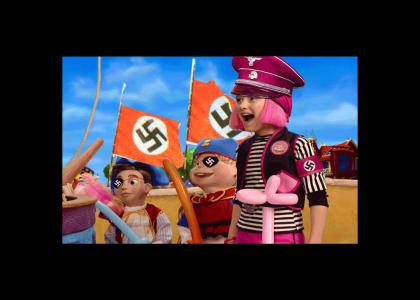 OMG!! Secret Nazi Lazytown Pirate Photoshop Contest!
